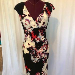 Ralph Lauren floral body con dress